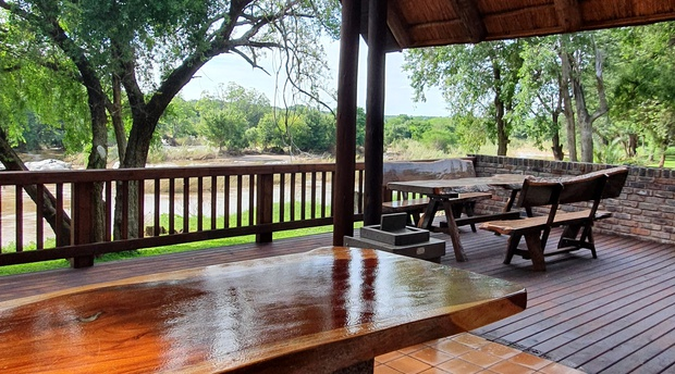 Terrace view of the Olifants river.